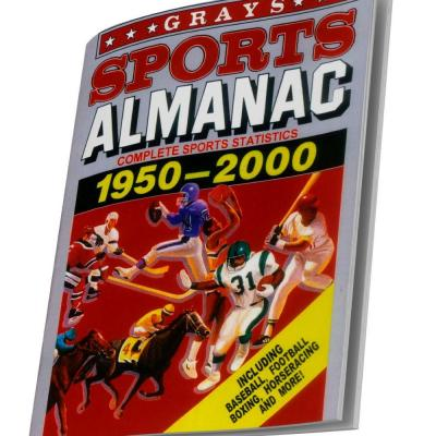 Grays Sports Almanac: Back To The Future 2 NOTEBOOK