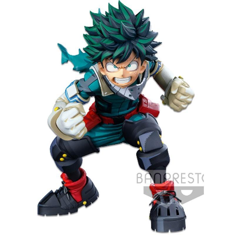 8483 my hero academia banpresto world figure colosseum modeling academy the izuku midoriya two dimensions