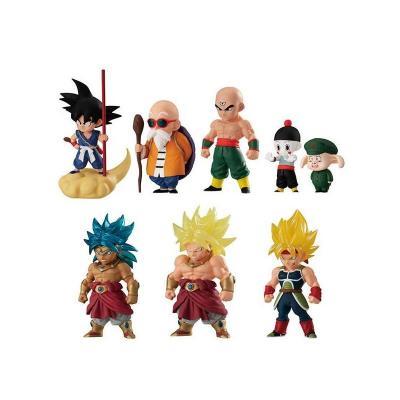 Dragon Ball Z Pack 10 Figurines adverge set bandai