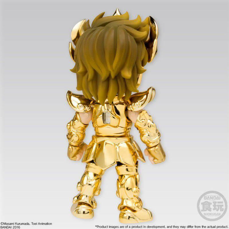 Aiolia leo saint seiya gold collection mini figurine articulee bandai suukoo toys 2
