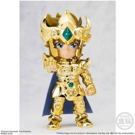 Aiolia leo saint seiya gold collection mini figurine articulee bandai suukoo toys 5