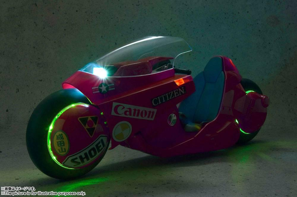Akira vehicule soul of popinica project bm kaneda s bike revival ver 50 cm moto 8