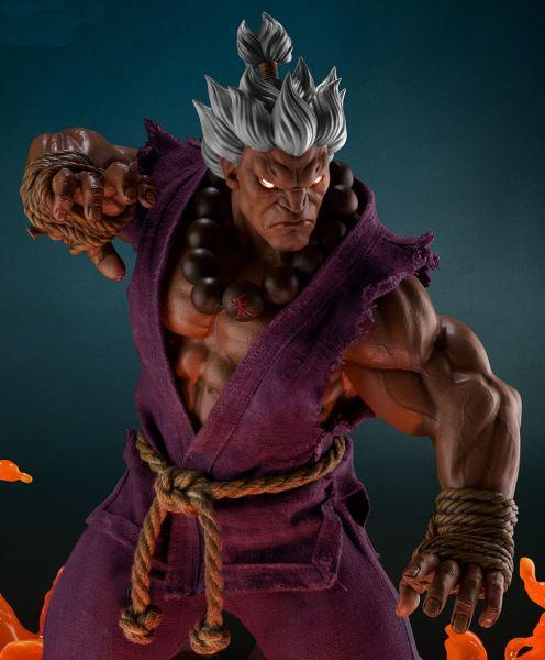 Akuma exclusive 58cm statue street fighter 3