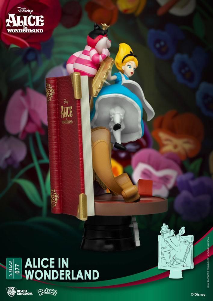 Alice diorama disney suukoo toys figurine 1