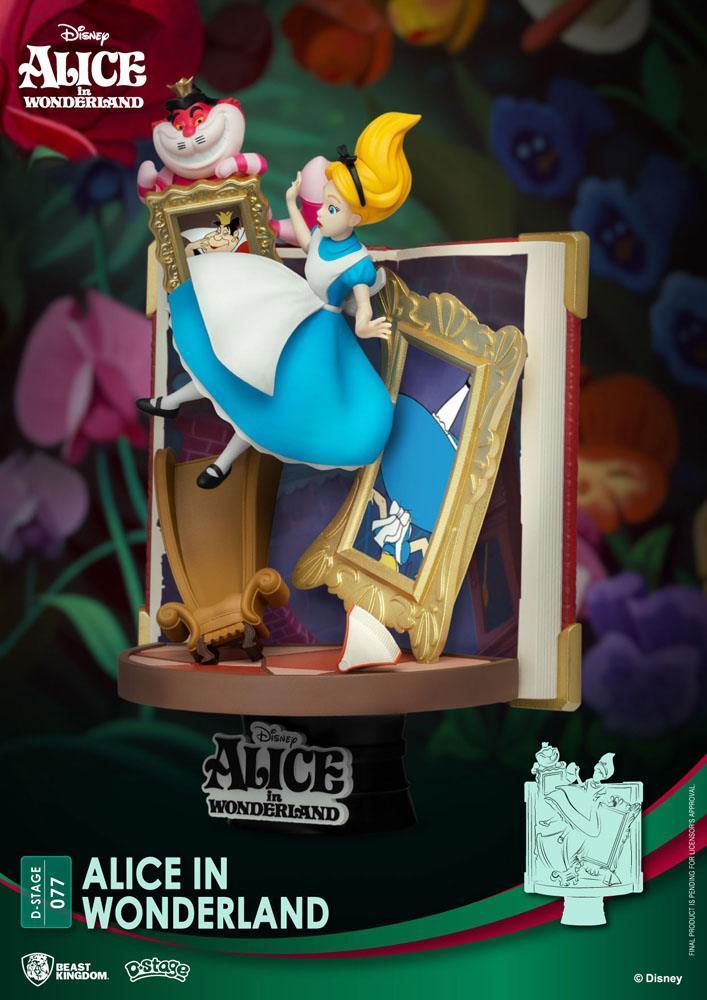 Alice diorama disney suukoo toys figurine 4