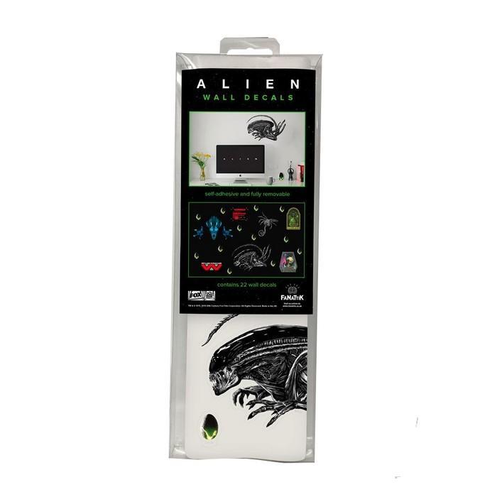Alien stickers repositionnables 2