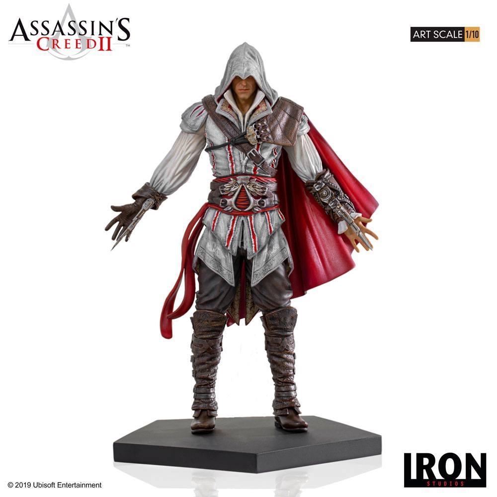 Assassin s creed ii statuette 110 art scale ezio auditore 21 cm 1