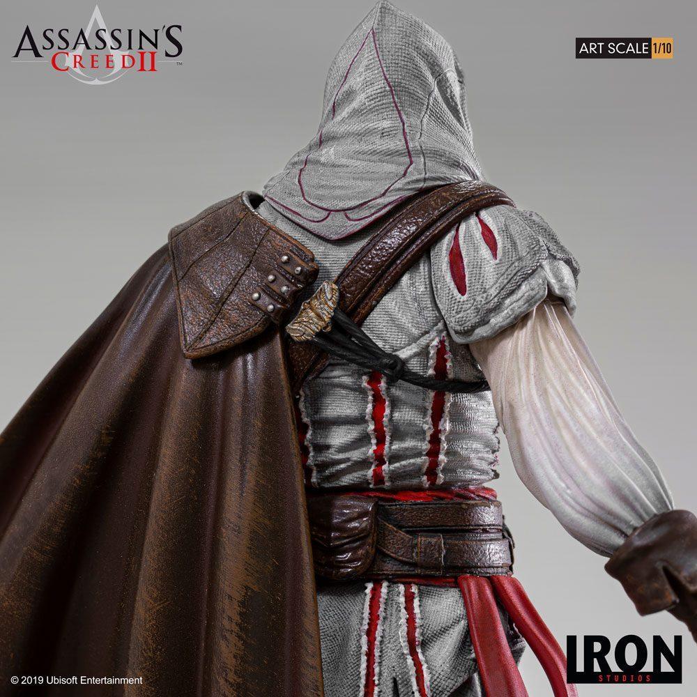 Assassin s creed ii statuette 110 art scale ezio auditore 21 cm 3