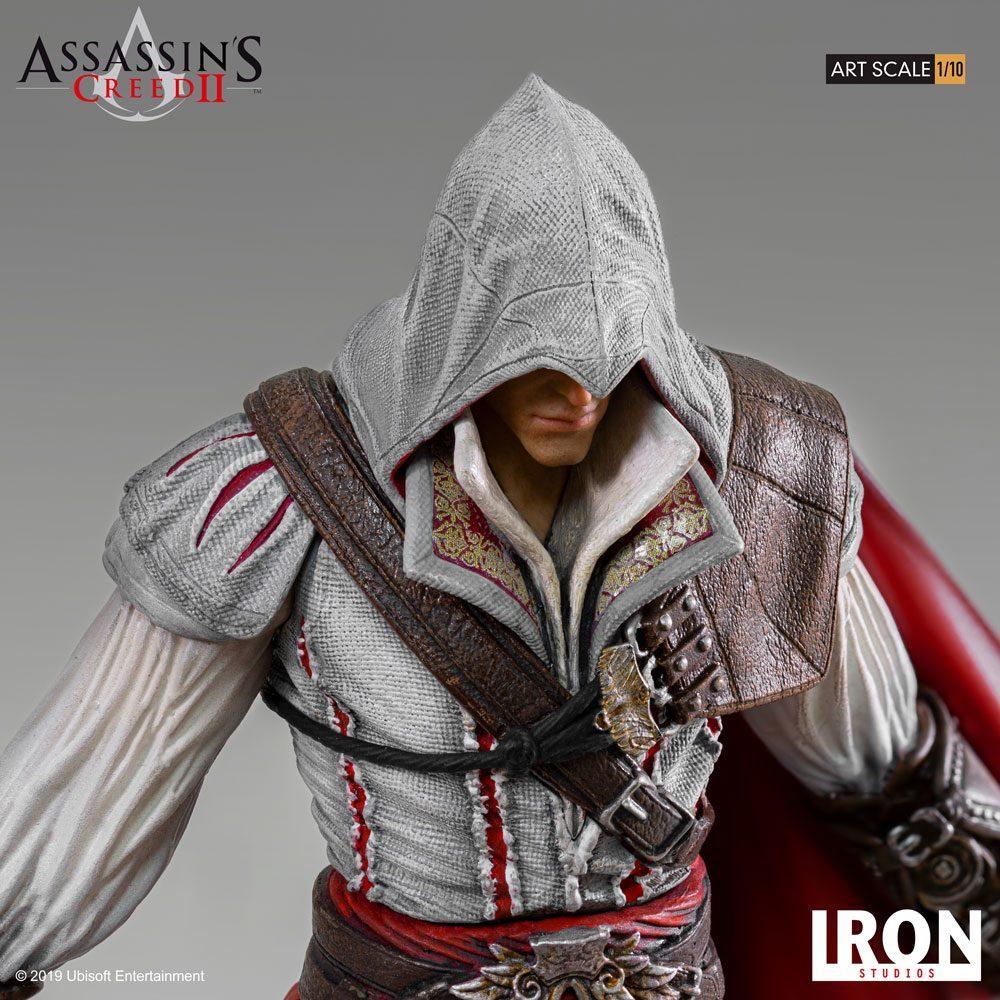 Assassin s creed ii statuette 110 art scale ezio auditore 21 cm 4