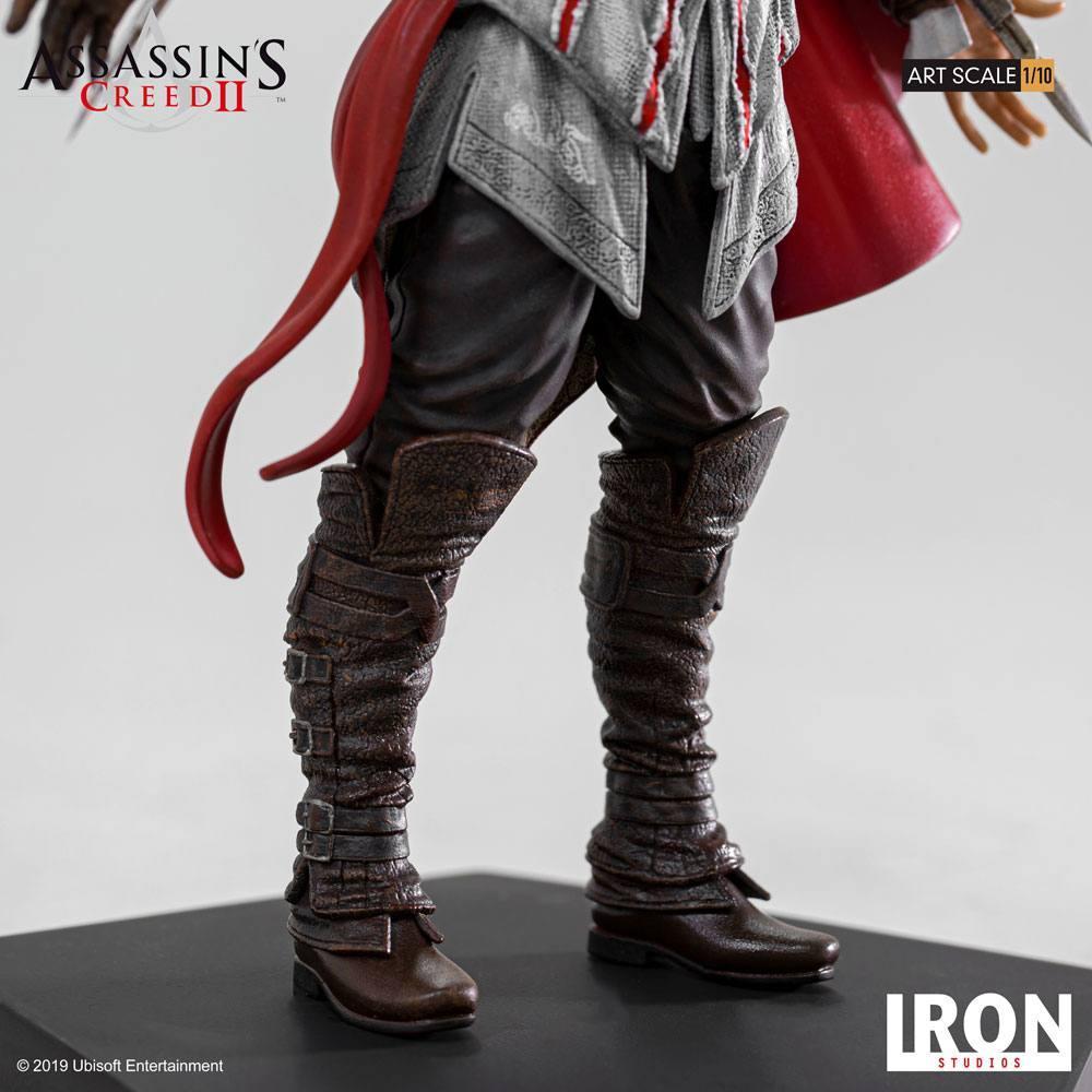 Assassin s creed ii statuette 110 art scale ezio auditore 21 cm 6