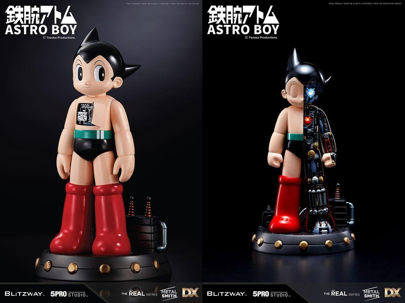Astro boy statuette deluxe the real series atom ver 30 cm 2