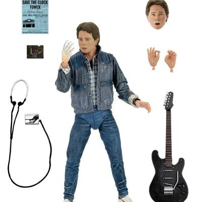 Retour vers le futur figurine ultimate Audition Marty McFly 17 cm
