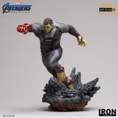 Avengers : Endgame statuette BDS Art Scale 1/10 Hulk Deluxe Ver. 22 cm - Iron Studios