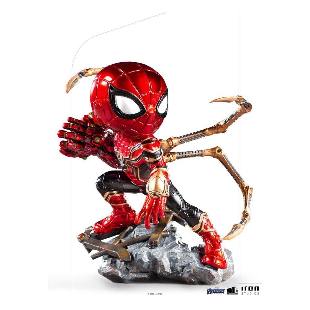 Avengers endgame figurine mini co pvc iron spider suukoo toys 1