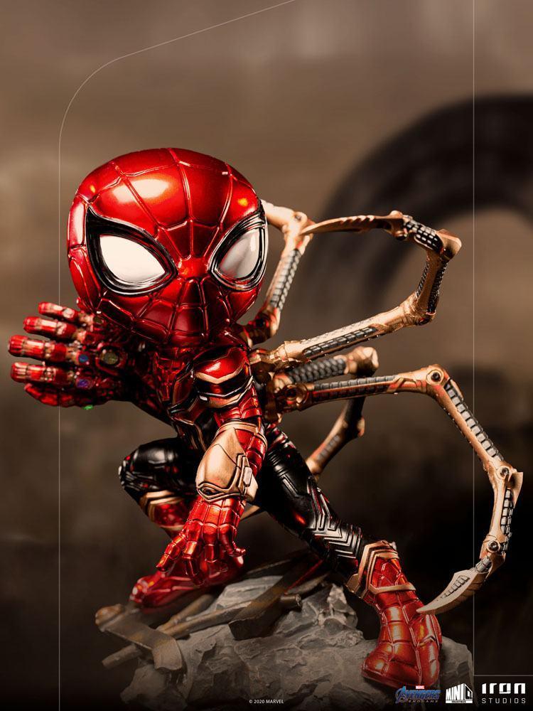 Avengers endgame figurine mini co pvc iron spider suukoo toys 10