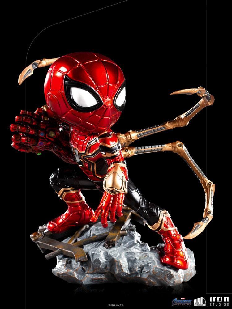 Avengers endgame figurine mini co pvc iron spider suukoo toys 11