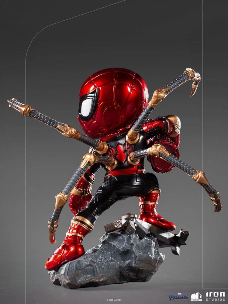 Avengers endgame figurine mini co pvc iron spider suukoo toys 3