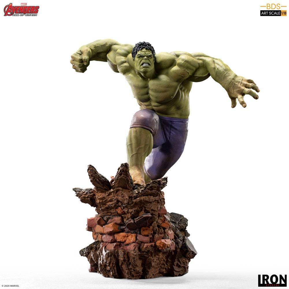 Avengers l ere d ultron statuette bds art scale hulk 26 cm iron studios 1