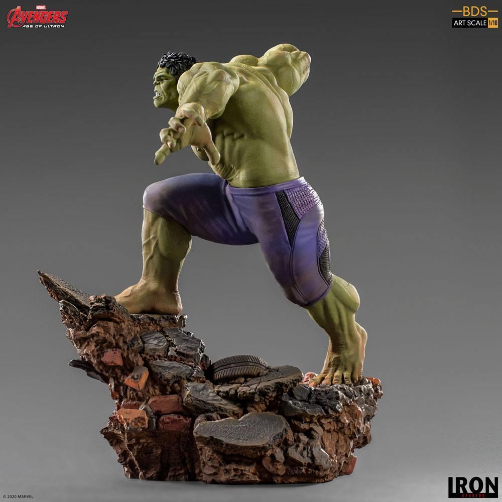 Avengers l ere d ultron statuette bds art scale hulk 26 cm iron studios 2