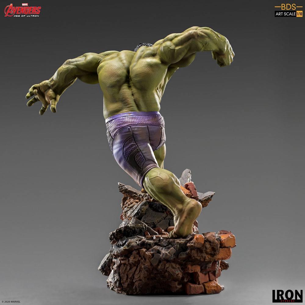 Avengers l ere d ultron statuette bds art scale hulk 26 cm iron studios 3
