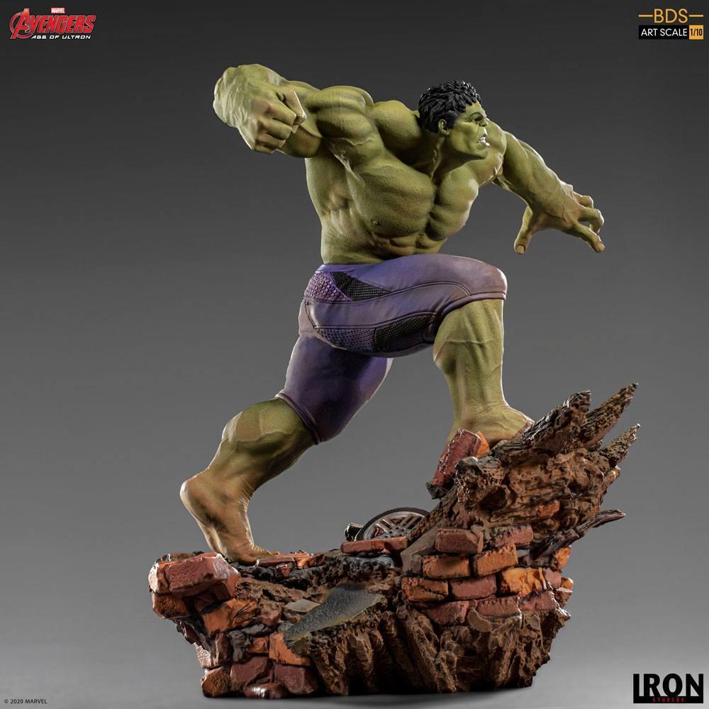 Avengers l ere d ultron statuette bds art scale hulk 26 cm iron studios 4