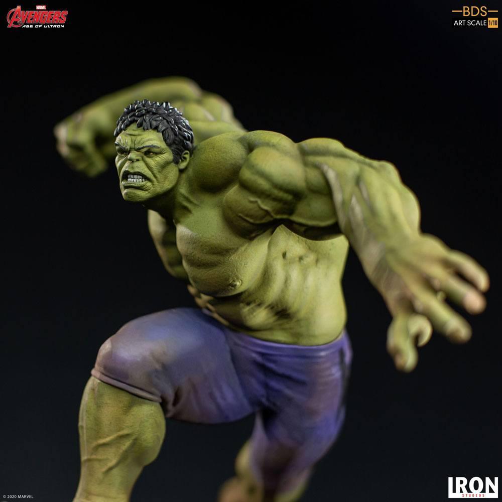 Avengers l ere d ultron statuette bds art scale hulk 26 cm iron studios 5