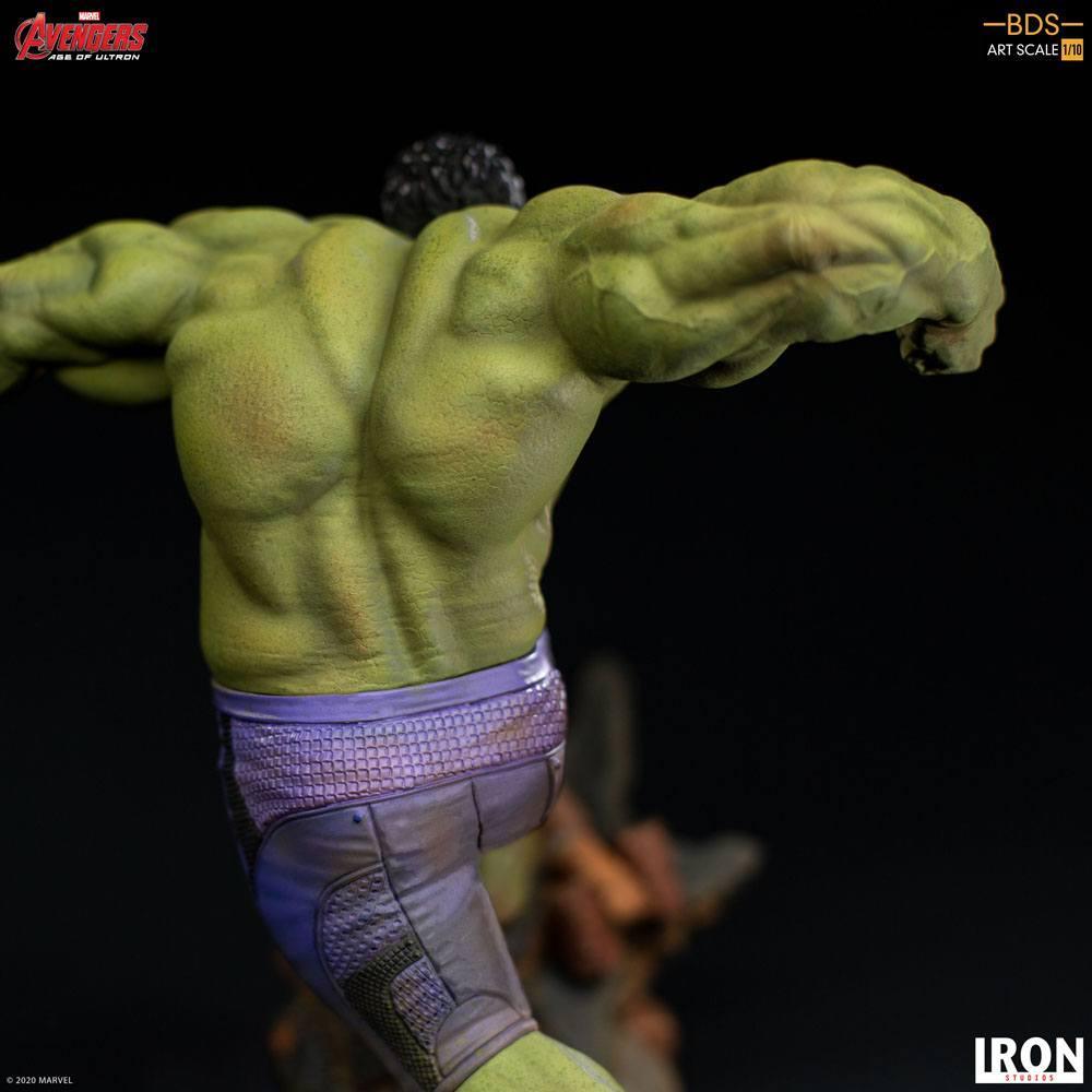 Avengers l ere d ultron statuette bds art scale hulk 26 cm iron studios 6