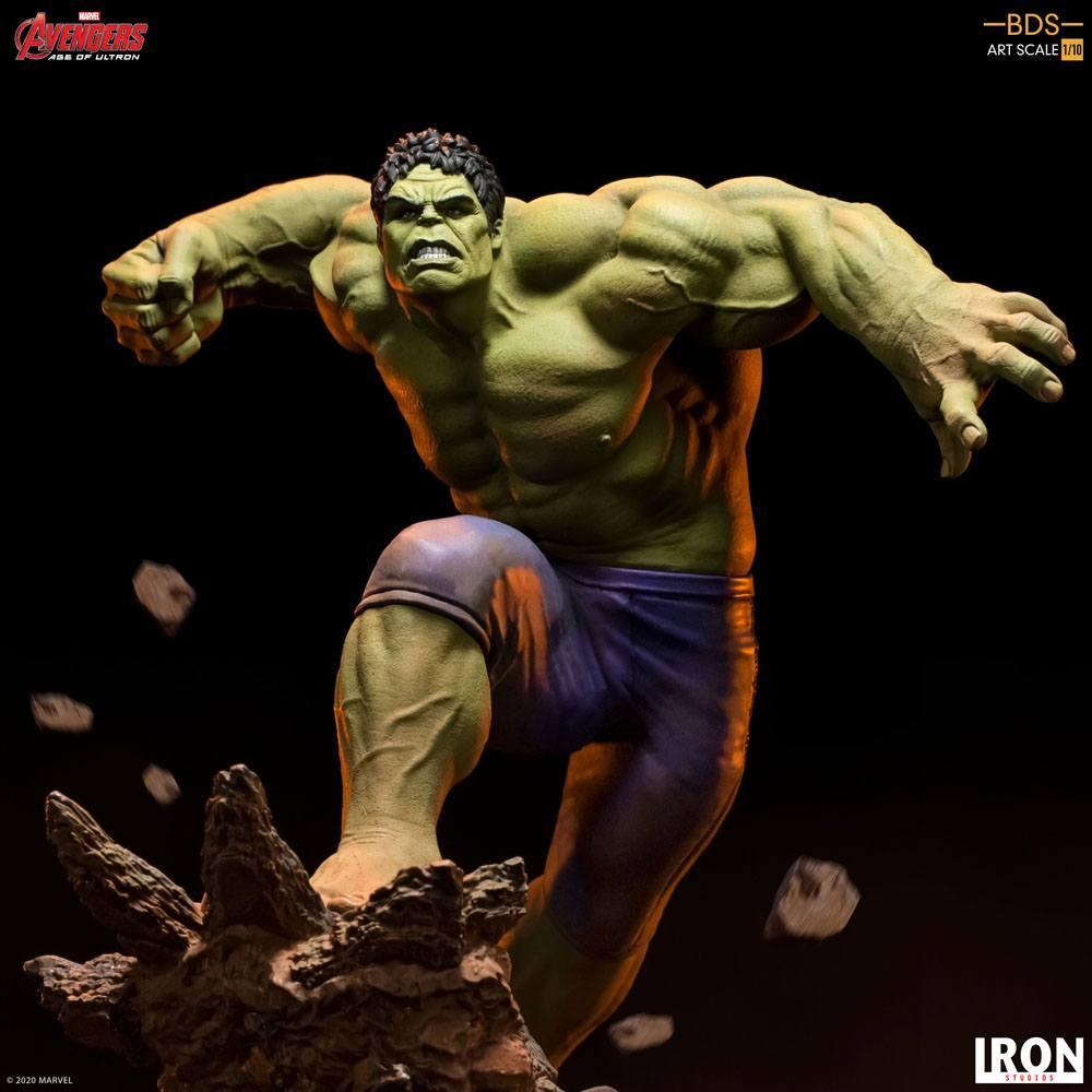 Avengers l ere d ultron statuette bds art scale hulk 26 cm iron studios 7