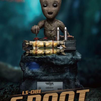 Les Gardiens de la Galaxie 2 statuette 1/1 Baby Groot 32 cm taille réelle