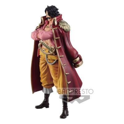 One Piece statuette PVC DXF Grandline Men Gold Roger (Wano Kuni) 17 cm