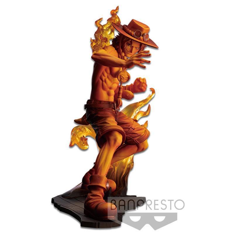 Banpresto figurine onepiece portgas d ace suukoo toys