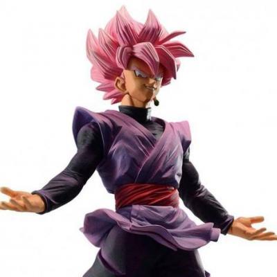 Banpresto ichibansho figurine goku black super saiyan rose dokkan battle figure 4