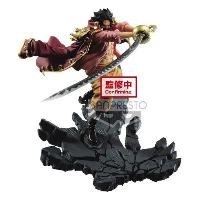One Piece statuette Manhood Gol D. Roger Ver. A 9 cm banpresto