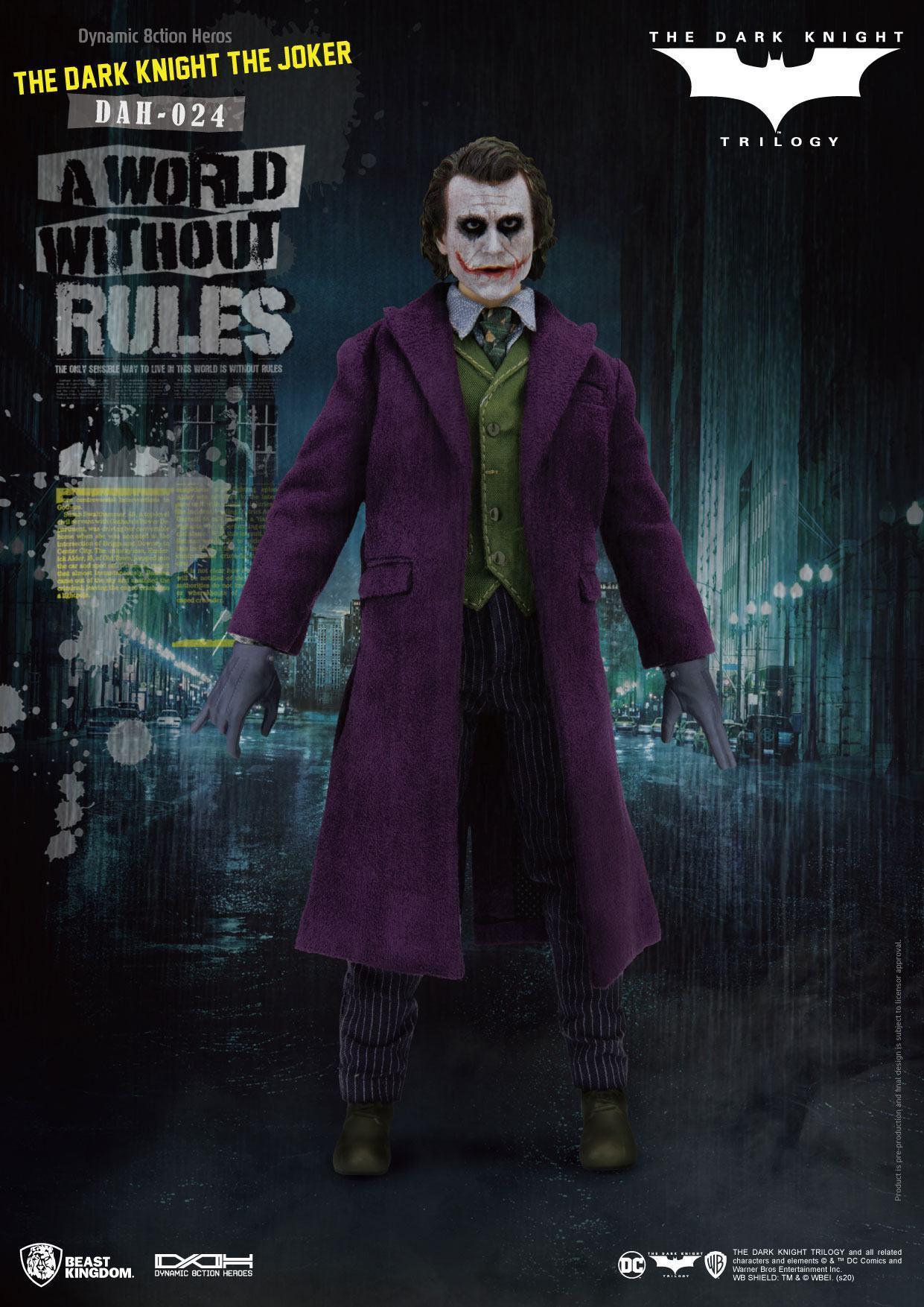 Batman the dark knight figurine dynamic action heroes the joker 1