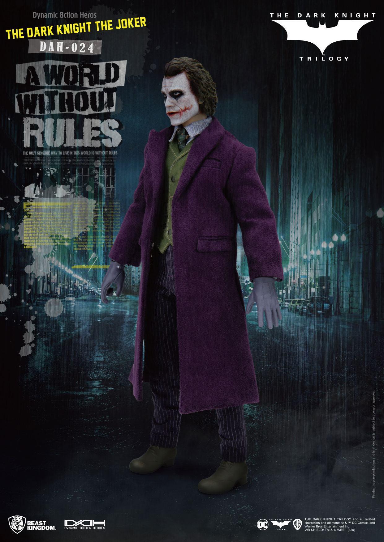 Batman the dark knight figurine dynamic action heroes the joker 2