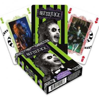 Beetlejuice jeu de cartes à jouer Movie