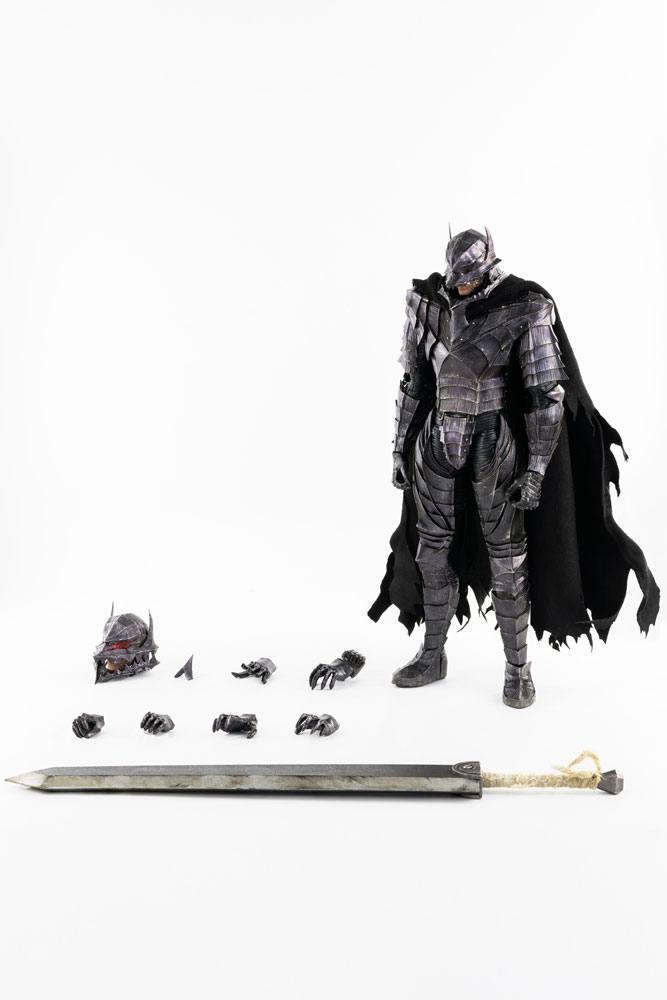 Berserk figurine guts 16 berserker armor threezero 2