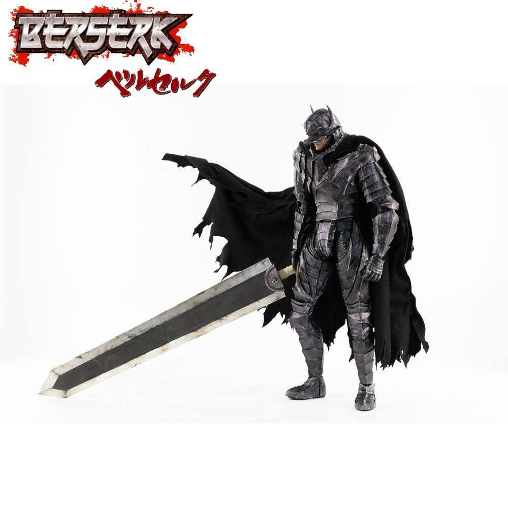 Berserk figurine guts 16 berserker armor threezero 3