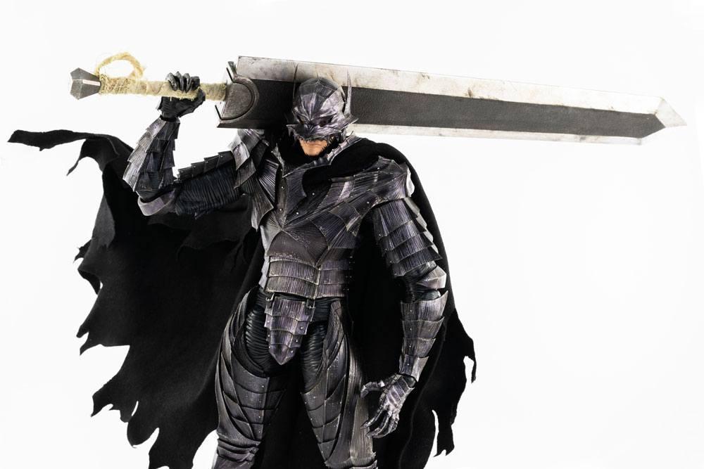Berserk figurine guts 16 berserker armor threezero 4