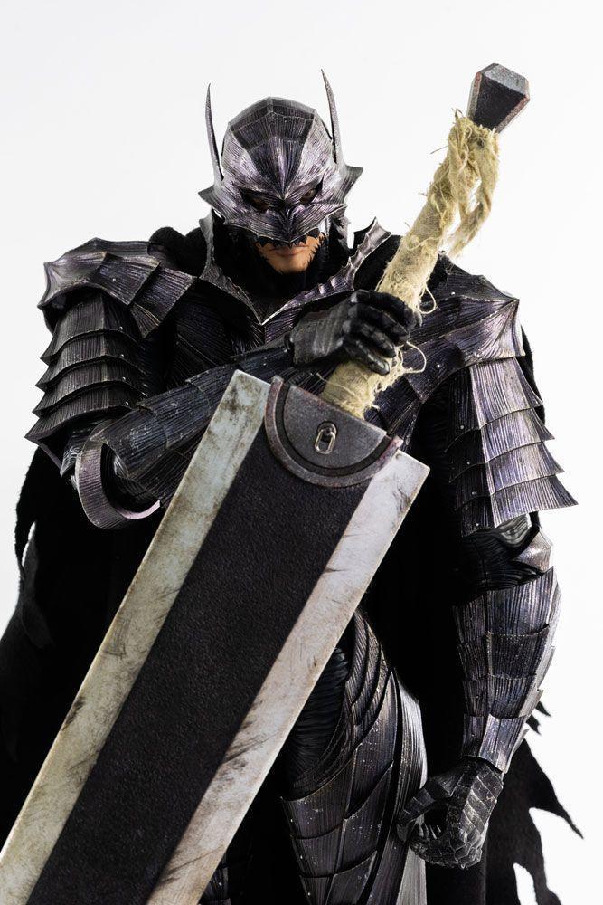 Berserk figurine guts 16 berserker armor threezero 6