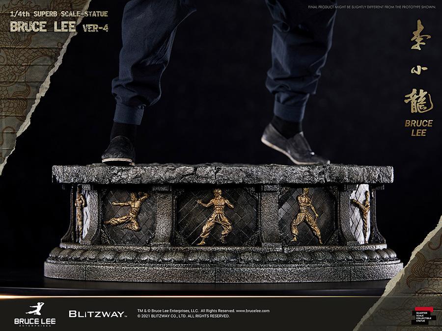 Blitzway bruce lee statue superb vers 6
