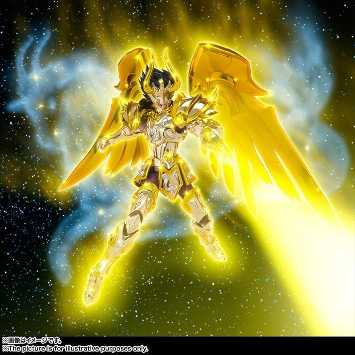 Capricorn shura saint seiya soul of gold myth cloth ex