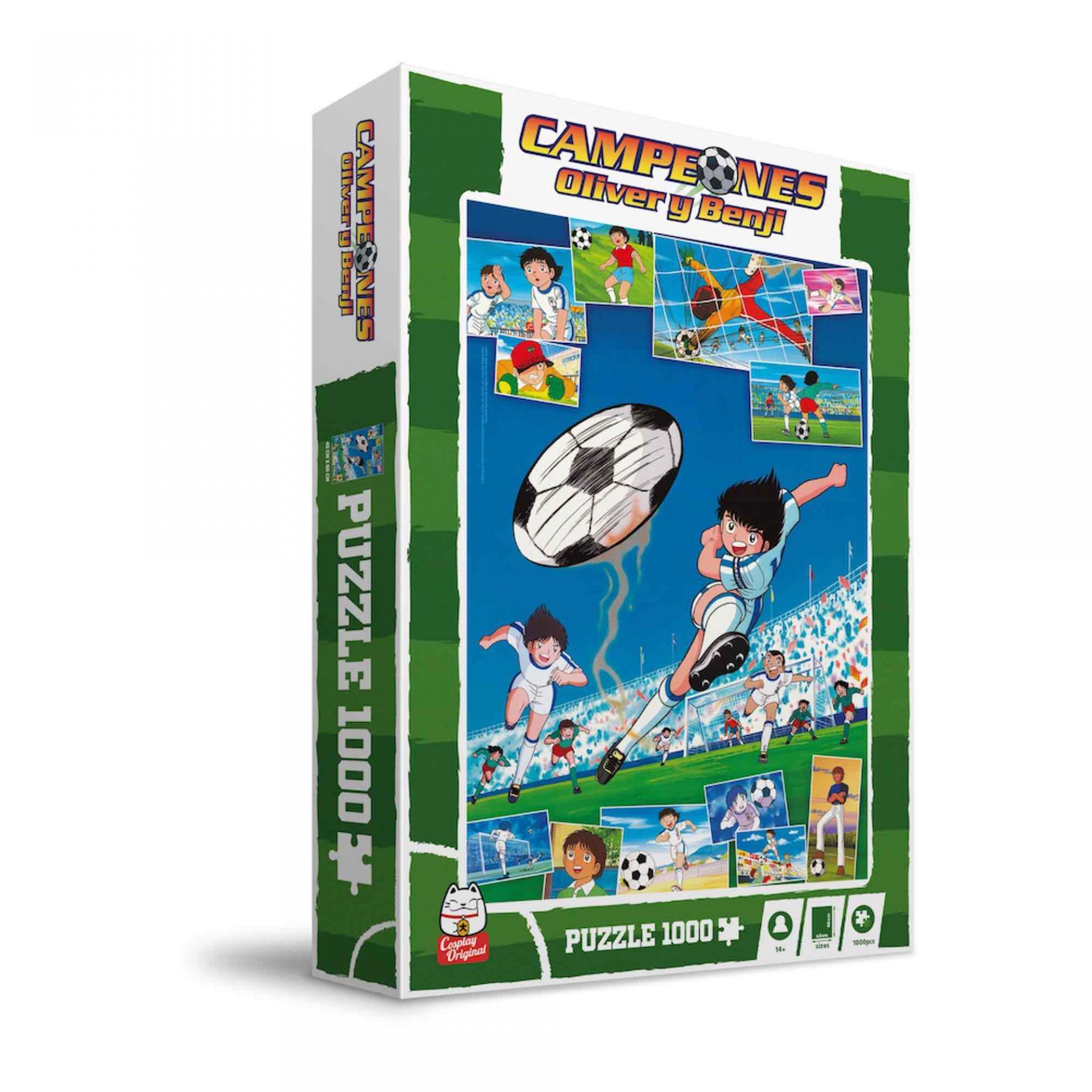 Captain tsubasa puzzle shooting suukoo toys 2