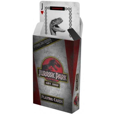 Jurassic Park jeu de cartes à jouer