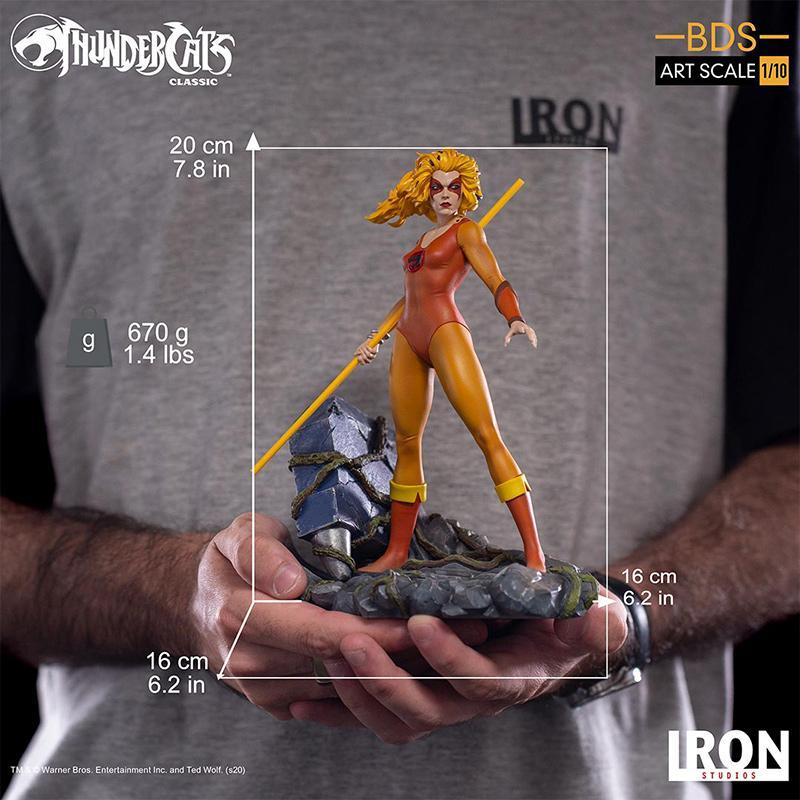 Cheetara felibelle iron studio suukoo toys statuette resine bds art 3