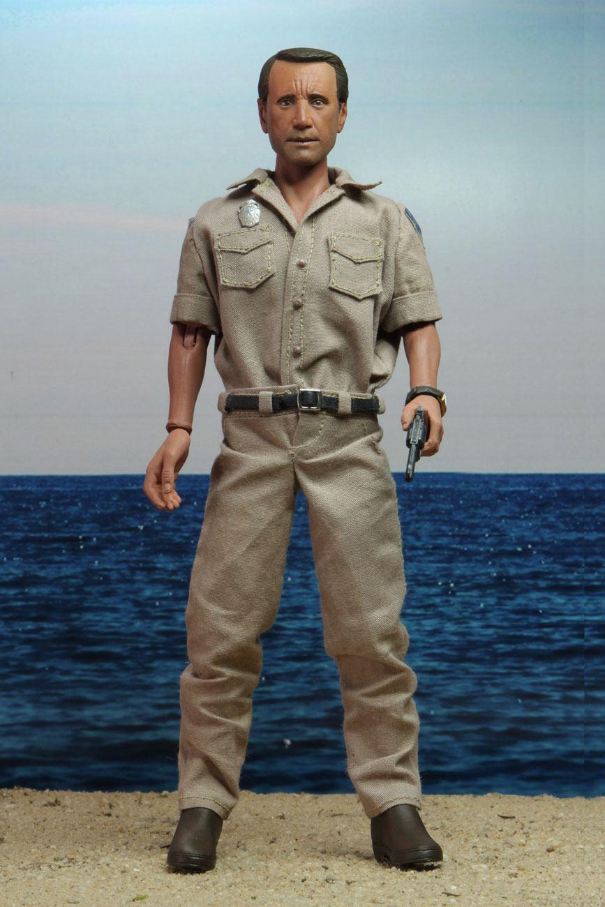 Chef brody martin police jaws neca les dents de la mer figurine jouet 1