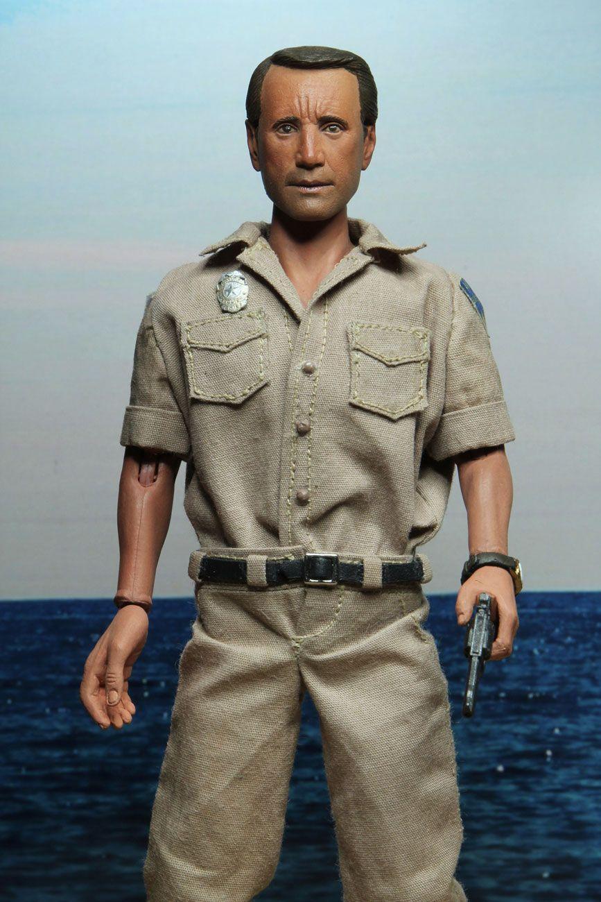 Chef brody martin police jaws neca les dents de la mer figurine jouet 4