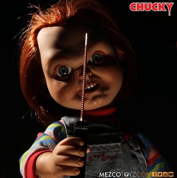 Chucky poupee mezco 38cm 1