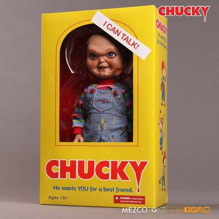 Chucky poupee mezco 38cm 2