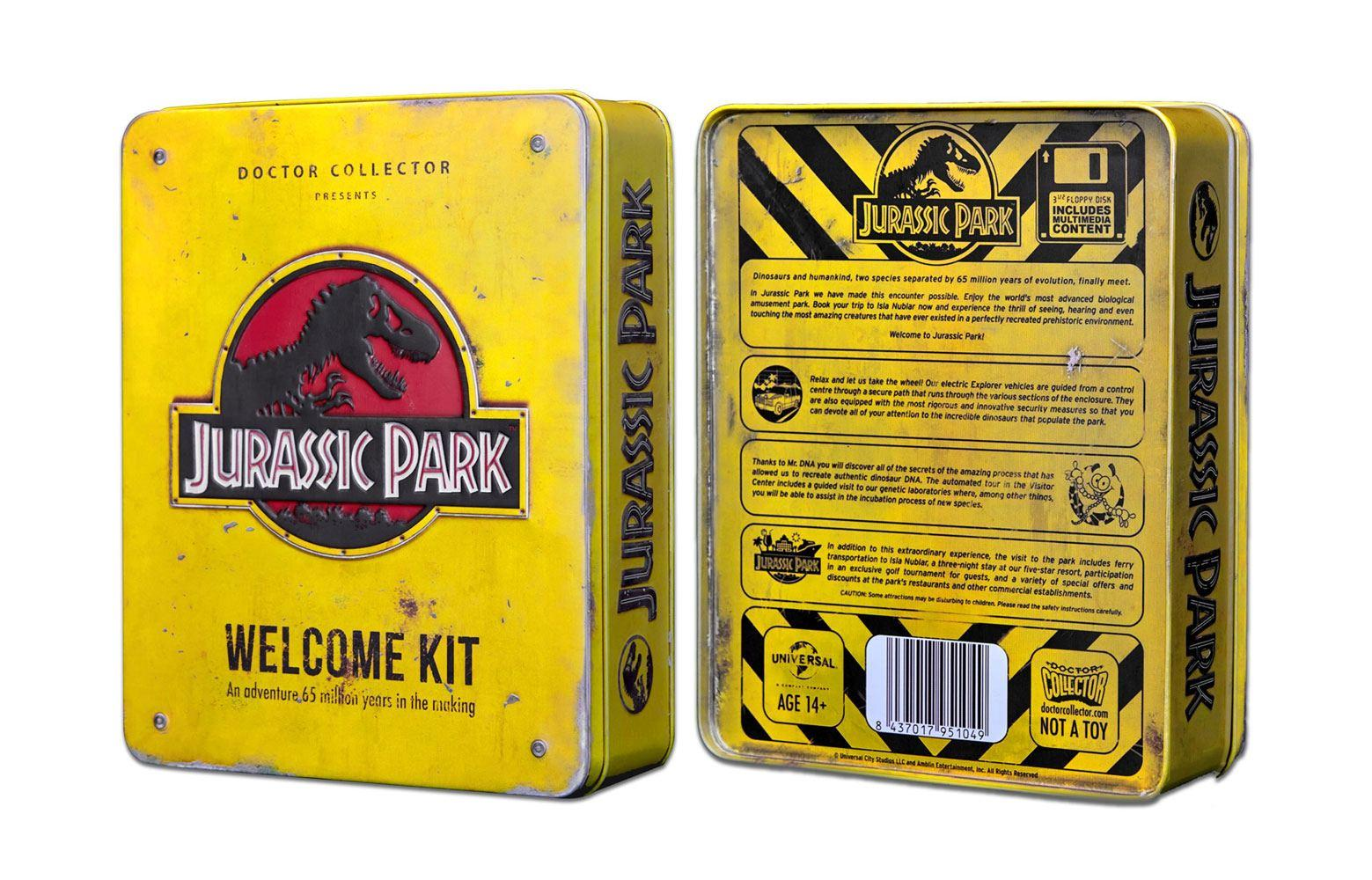 Coffret kit welcome jurassic park suukoo toys collection jouet 1